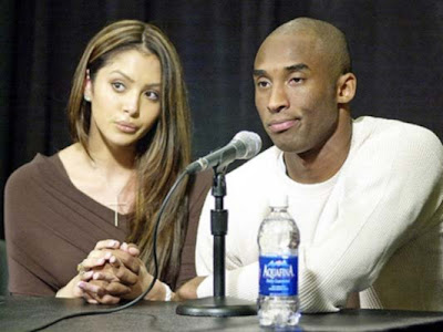 vanessa-bryant-kobe-ring thlete Kobe Bryant and his wife Vanessa are