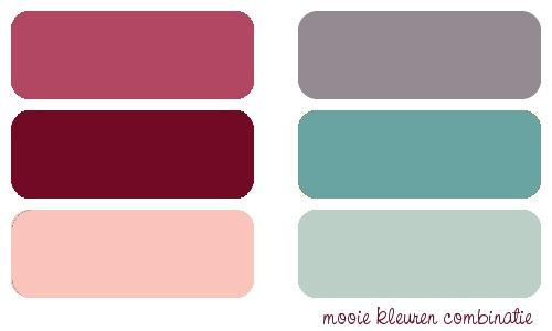 Slaapkamer Inspiratie Groen : ... frambozen roze met diep rood en een ...
