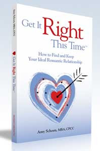 Get It Right This Time is a great book for singles!