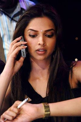 Deepika padukone in Black Dress55