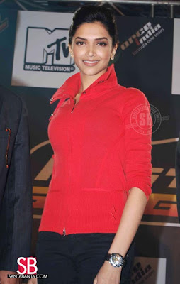 deepika padukone at MTV kingfisher