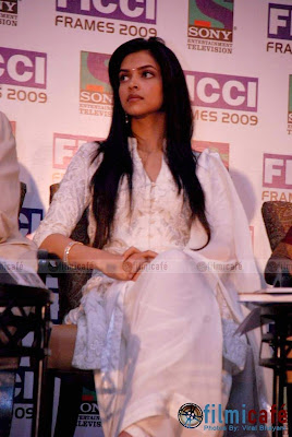 Deepika Padukone Launches FICCI Frames Annual Event