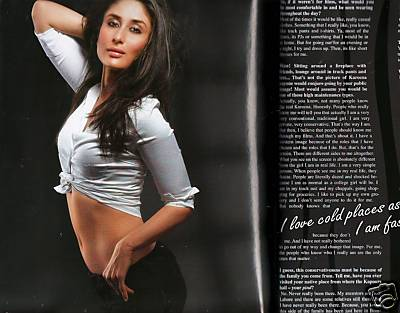 kareena kapoor fhm magazine india