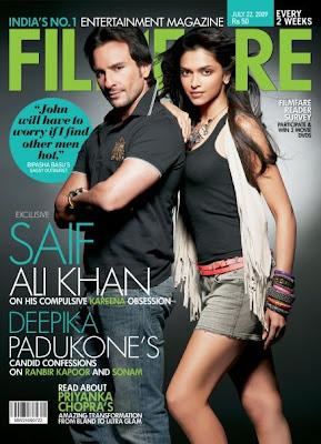 Deepika Padukone - Filmfare Magazine (July 2009)