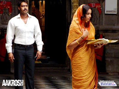 Bipasha Basu Ajay Devgan Aakrosh Movie Stills
