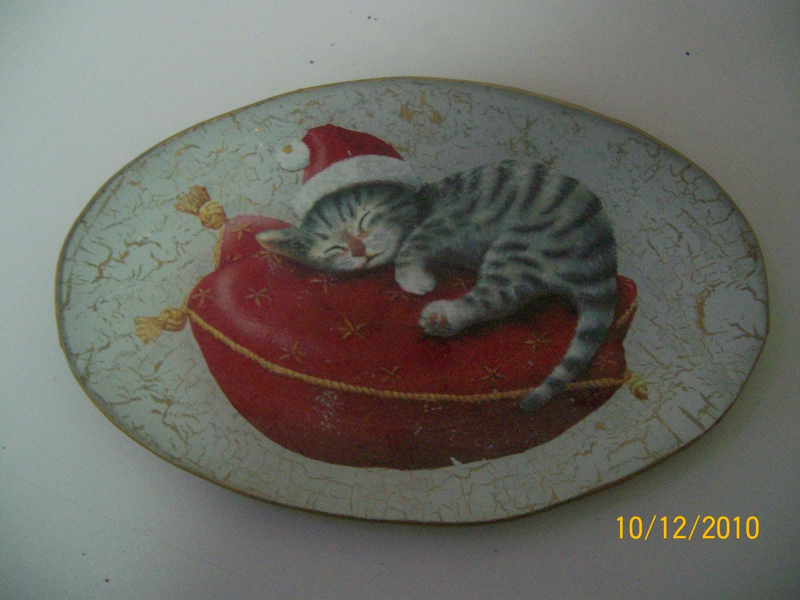 El baul de margali bandejas y platos de cristal for Bandejas de navidad