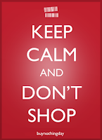 Keep calm and dont shop