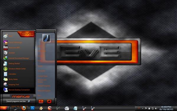 EVE Windows 7 Theme 10592