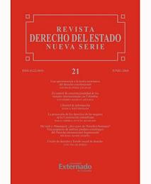 Artículos en la Revista de Derecho del Estado
