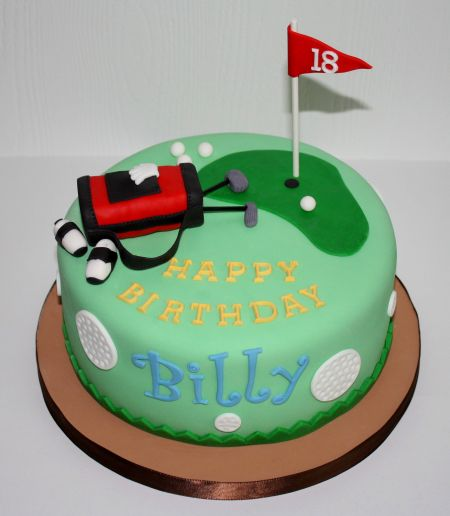 Cake Images Golf : Cakes by Dusty: January 2011