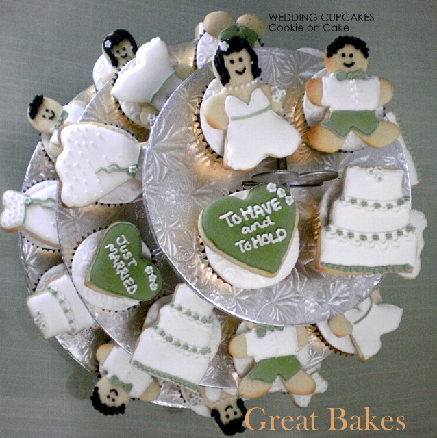 2009 has seen hundreds of wedding cupcakes stacked up for in weddings after