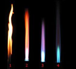 tipos de llama