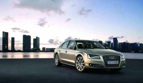 Audi A8 Lights. quot;The new Audi A8 is the