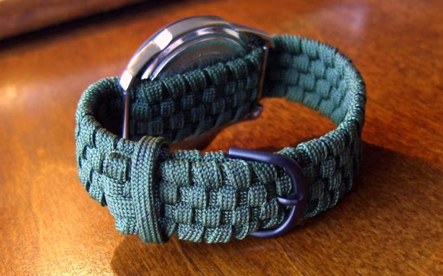 Stormdrane 39 s blog adjustable paracord watchband for What can you make out of paracord
