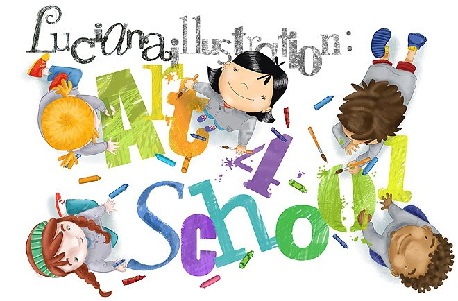 Luciana Illustration: Art for School
