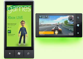 Smartphones links to Xbox Live services