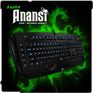 Razer Anansi MMO Gamers Keyboard
