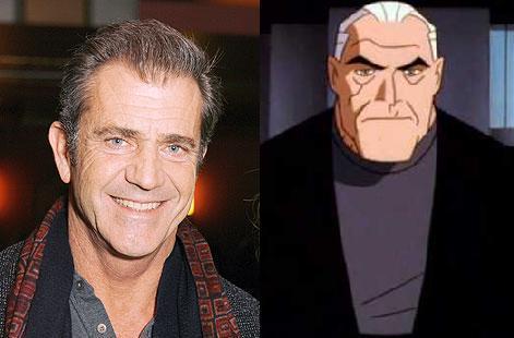 mel gibson crazy eyes. Mel Gibson as Bruce Wayne: