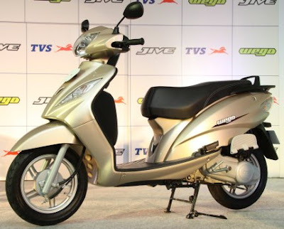 New TVS Wego Scooter India