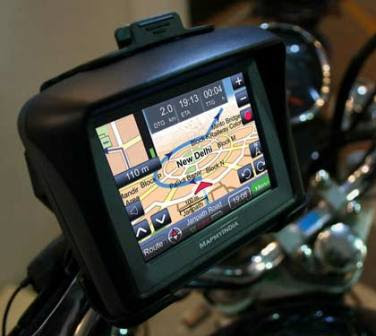 MapmyIndia TrailBlazer GPS System for Superbikes