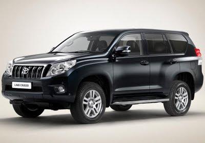 New Toyota LandCruiser Prado