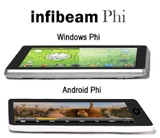 Infibeam Phi: Touch Screen Media Device in India