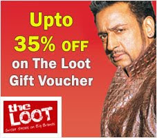 Upto 35% OFF on The Loot Gift Voucher at Infibeam.com