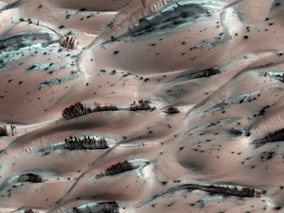 weird and beautiful surface of mars