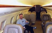 Premel 2008 aboard a CIA Gulfstream