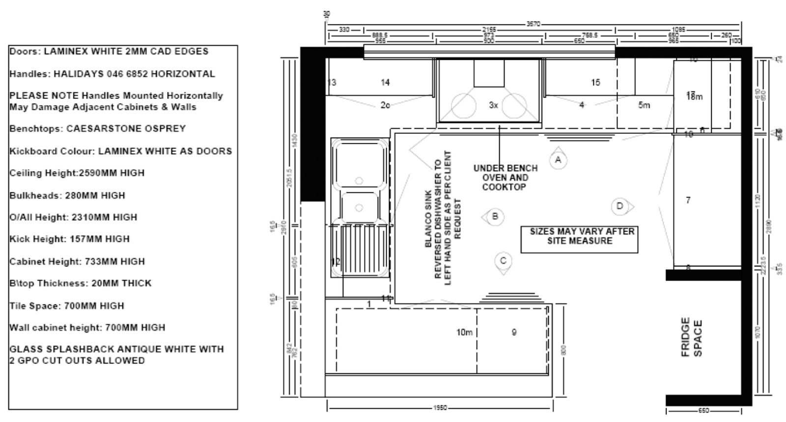 Building our new home kitchen plans for Kitchen floor plan layout