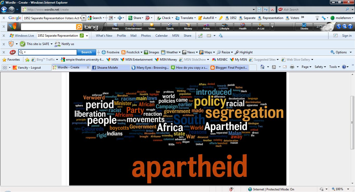 an analysis of the apartheid in the republic of south africa South africa i current national security situation1  south africa's military forces have also undergone substantial change within the  republic, spain,.