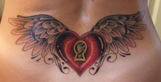 Amazing Heart Tattoos With Image Female Tattoo using Heart Tattoo Designs For Lower Back Tattoo Picture 8