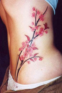 Side Body Tattoos Female