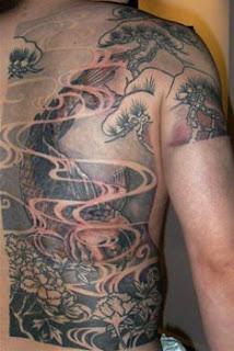Japanese Tattoo, Koi Tattoo, Fish tattoo, Japanese Koi Tattoo, Koi Fish Tattoo, Japanese Koi Fish Tattoo, Back Body Tattoo, Back Piece Tattoo