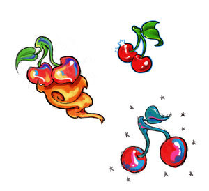 cherry tattoos design