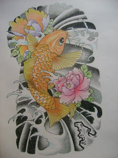Amazing Art of Japanese Tattoos Especially Koi Fish Tattoo With Image Japanese Koi Fish Tattoo Designs Gallery Picture 5