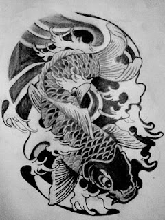 Nice Japanese Tattoos Koi Fish Tattoo22