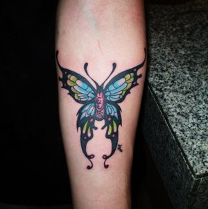 Nice Arm Tattoo Ideas With Butterfly Tattoo Designs With Image Arm Butterfly Tattoo Gallery 3