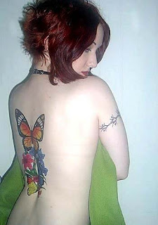 Nice Back Body Tattoo Ideas With Butterfly Tattoo Designs With Image Back Body Butterfly Tattoos For Female Tattoo Gallery 7