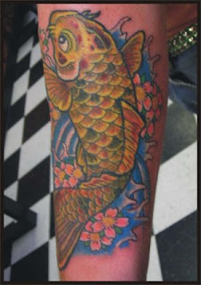 Amazing Art of Arm Japanese Tattoo Ideas With Koi Fish Tattoo Designs With Image Arm Japanese Koi Fish Tattoo Gallery 4