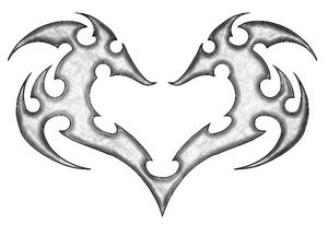 Heart Tattoos With Image Heart Tattoo Designs Especially Broken Heart Tattoos Picture 6