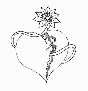 Heart Tattoos With Image Heart Tattoo Designs Especially Broken Heart Tattoos Picture 4