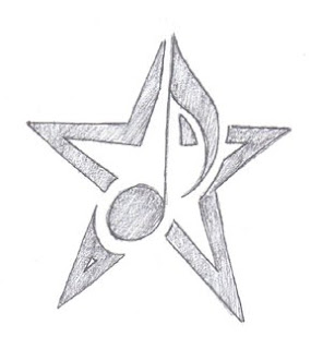 Nice Star Tattoos Design With Image All Star Tattoo Designs Picture 10