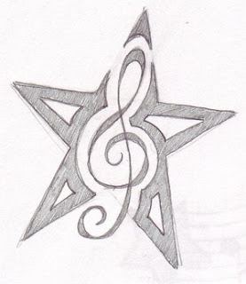 Nice Star Tattoos Design With Image All Star Tattoo Designs Picture 7