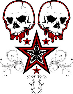 Nice Star Tattoos With Image Tattoo Designs Especially Skull Star Tattoo Picture 3