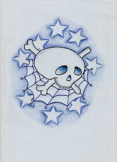 Nice Star Tattoos With Image Tattoo Designs Especially Star Skull Tattoo Picture 3