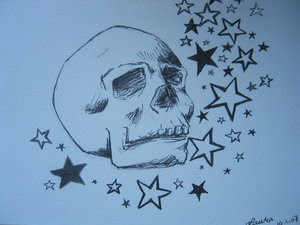 Nice Star Tattoos With Image Tattoo Designs Especially Star Skull Tattoo Picture 7