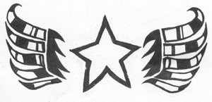 Nice Star Tattoos With Image Tattoo Designs Especially Star Wings Tattoo Picture 10