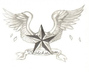 Star Tattoos With Image Tattoo Designs Especially Star Wings Tattoo Picture 9