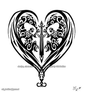 Heart Tattoos With Image Heart Tattoo Designs Especially Heart Tribal Tattoo Picture 5